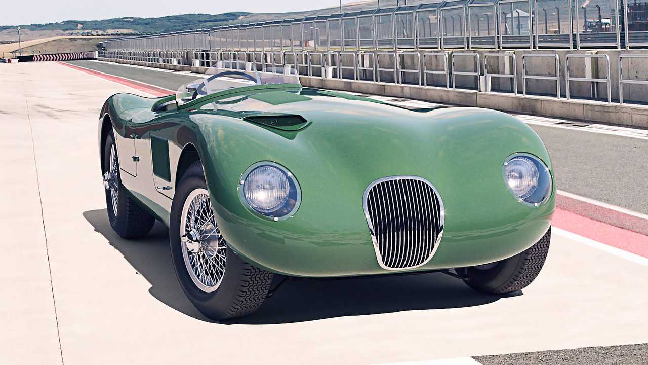 Jaguar Classic C-Type Paddock