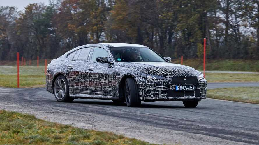 BMW Presents i4 Prototype During Final Calibration Drives