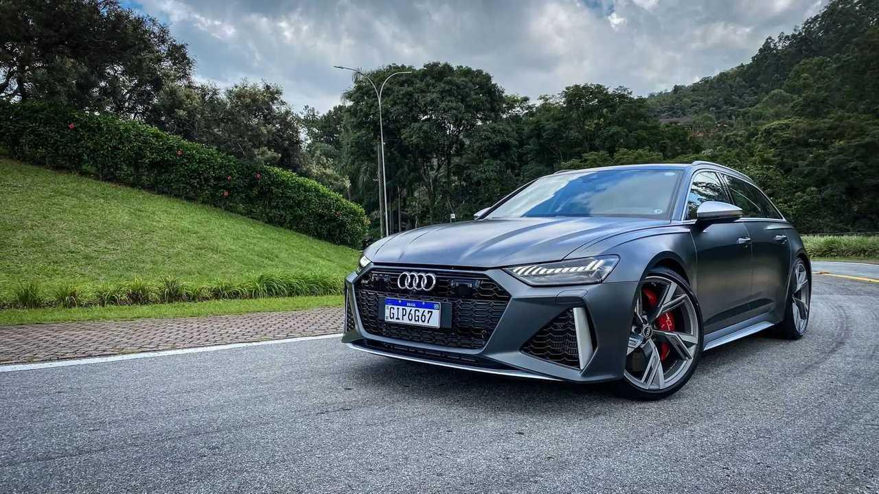 Audi RS6 (Teste BR)
