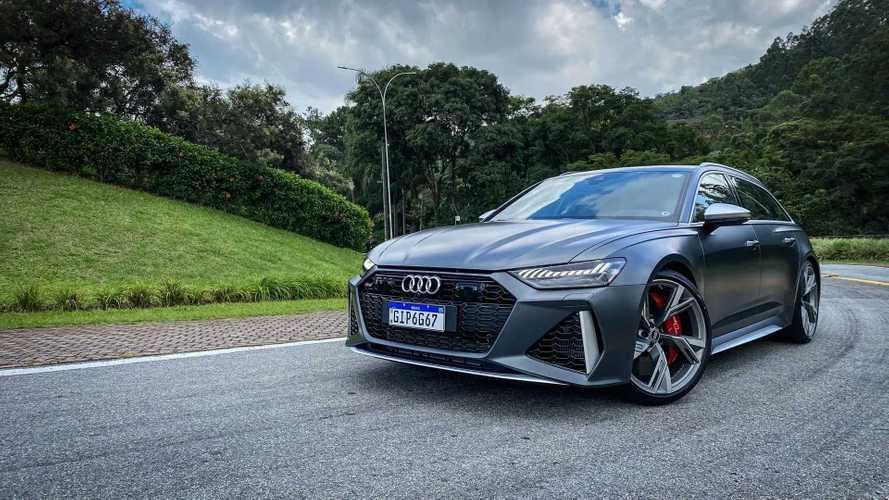 Teste: Nova Audi RS6 coloca tecnologia à altura do desempenho