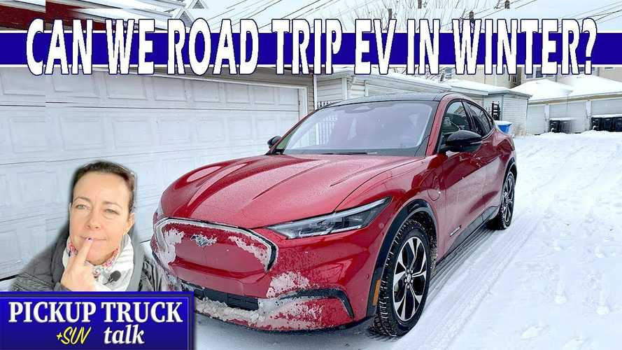 This Ford Mustang Mach-E Winter Road Trip Didn't Go As Planned