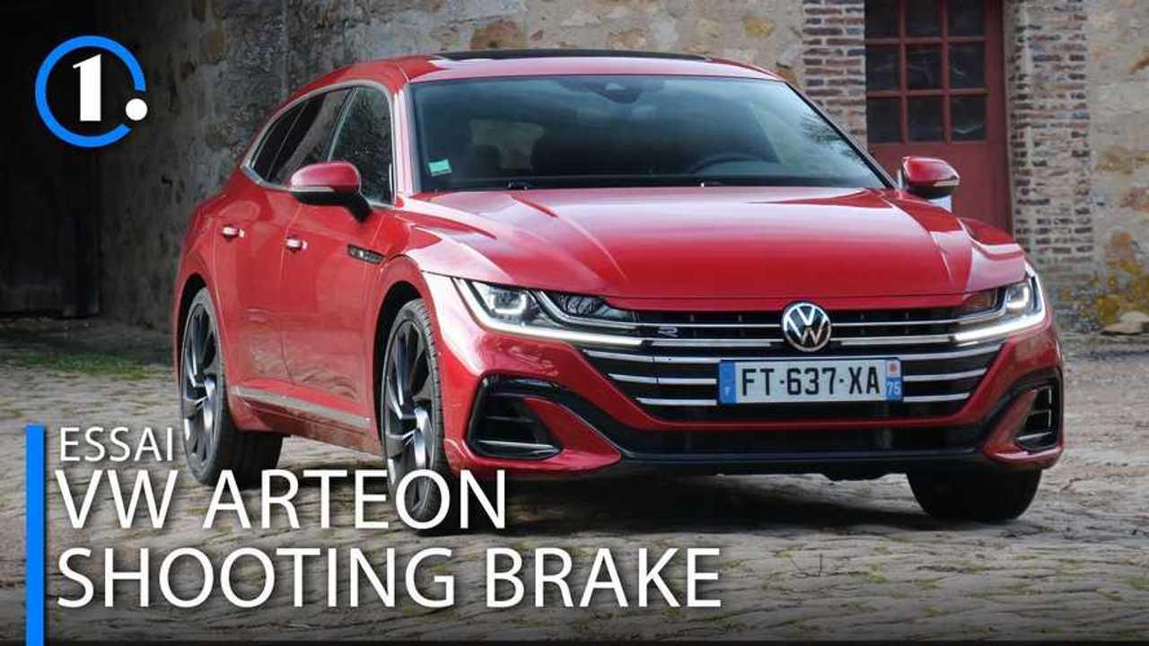 Essai Volkswagen Arteon Shooting Brake (2021)