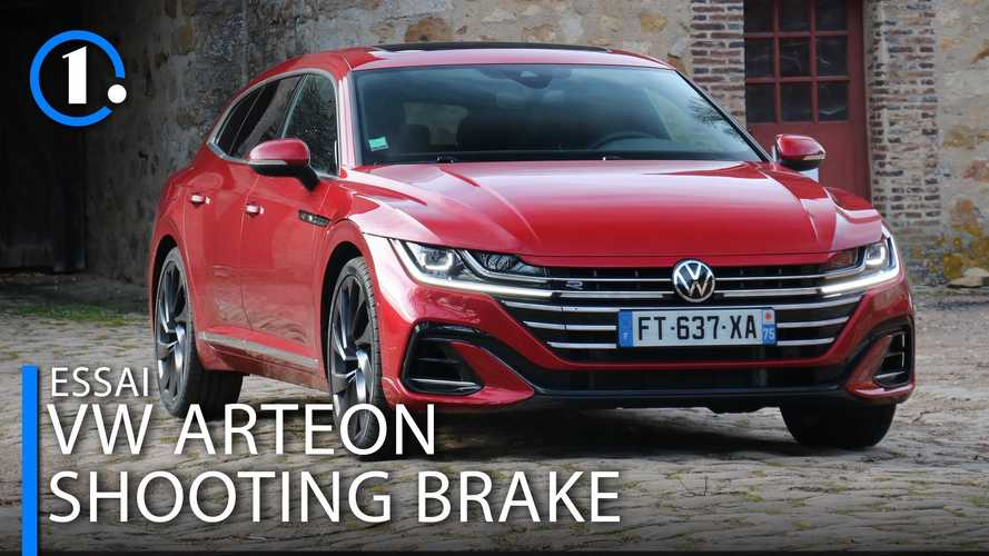 Essai Volkswagen Arteon Shooting Brake - Le break le plus élégant ?
