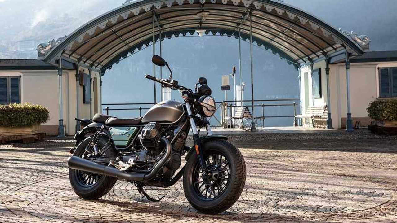 2021 Moto Guzzi V9 Centennial Livery