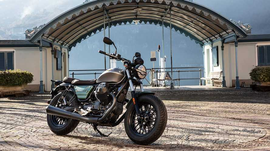 Moto Guzzi Celebrates Centennial With 3 Special Editions
