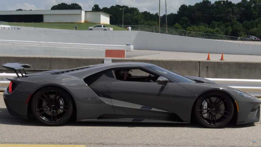 See Pro Drifter Vaughn Gittin Jr. Spin Donuts In His Ford GT