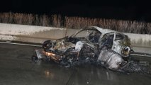 Porsche 911 fire