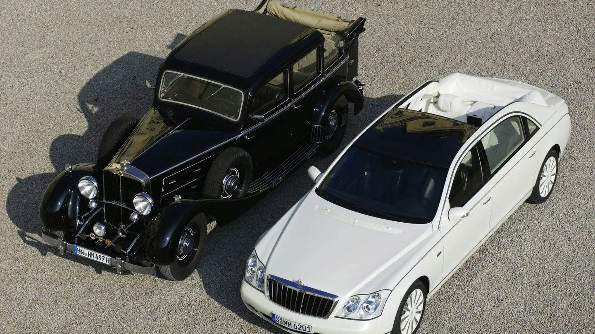 maybach 62s landaulet: officially revealed