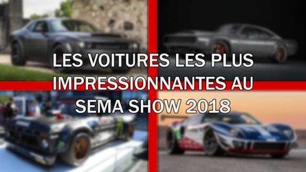 DIAPORAMA - Les voitures les plus impressionnantes au SEMA Show 2018