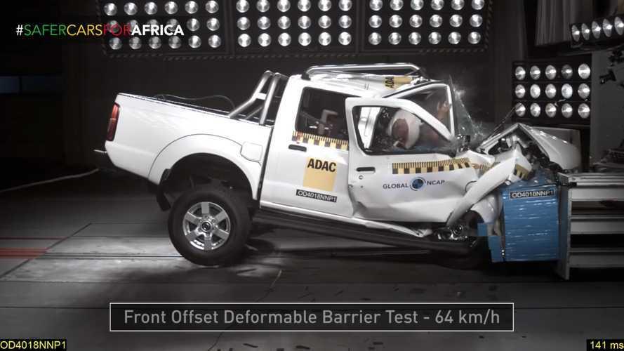 0 csillagos töréstesztet produkált az afrikai piacra készített Nissan Navara