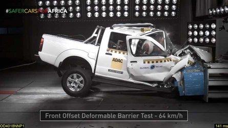 Nissan NP300 Hardbody Gets Terrifying Zero-Star Crash Rating