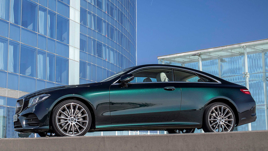 2017 Mercedes Benz E Cl Coupe First Drive