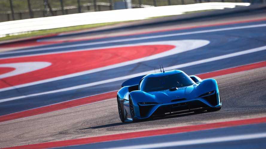 Nio EP9, un coche autónomo y eléctrico de récord