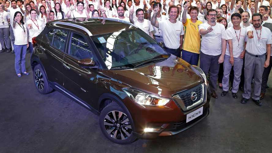Nissan Kicks começa a ser produzido no Brasil - SUV é o carro chefe da marca