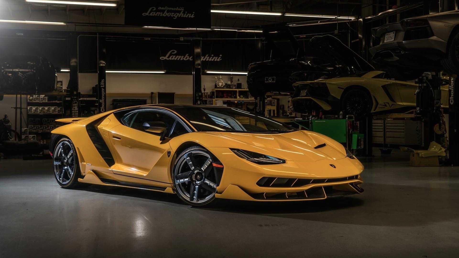 Lamborghini Centenario Yellow Motor1 Com Photos