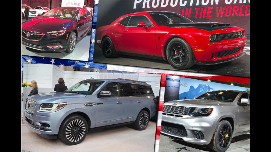 Die Highlights der New York Auto Show 2017