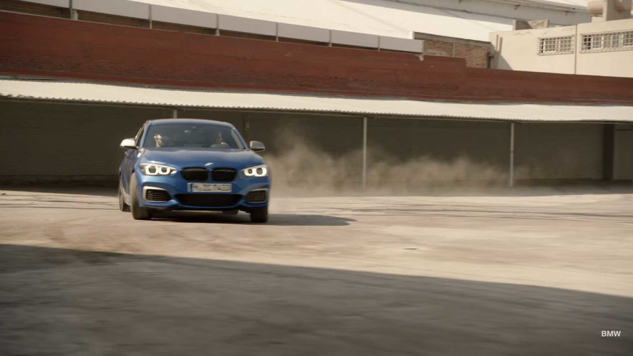 VIDÉO - La BMW M140i de 340 ch affronte un drone
