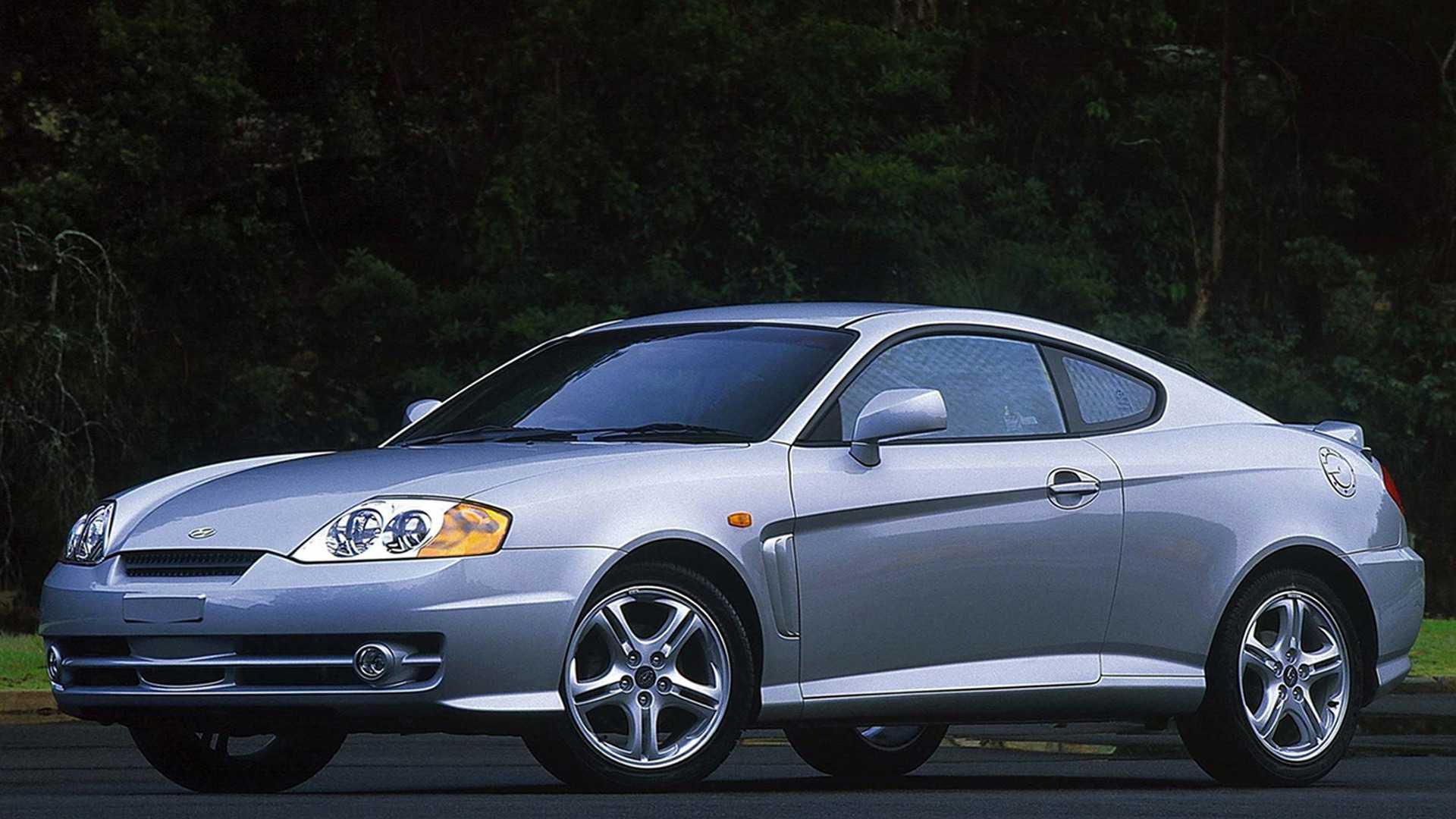 Worst Sports Cars Hyundai Tiburon