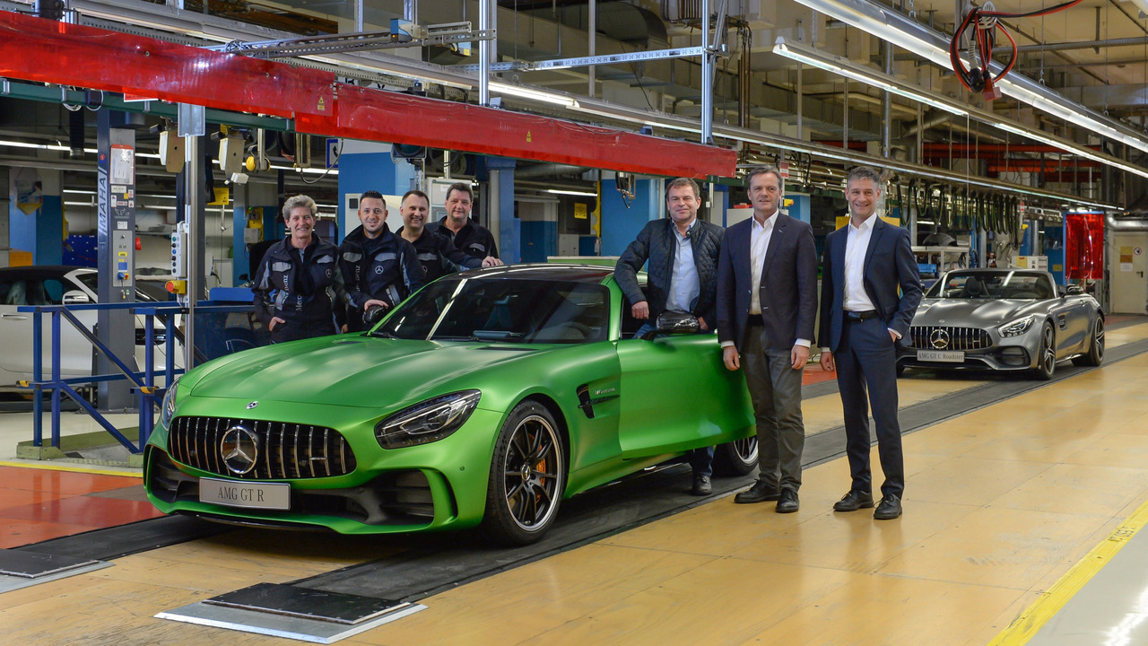 AMG GT Production
