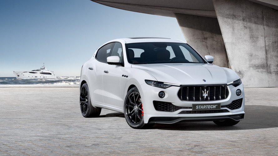 Maserati Levante gets Startech treatment for Geneva