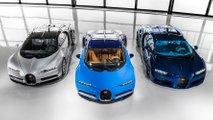 Produção do Bugatti Chiron na fábrica de Molsheim factory