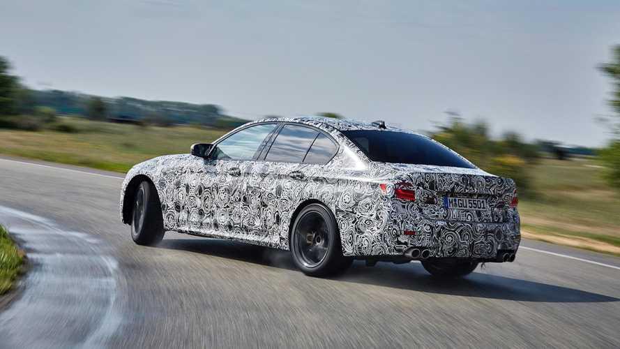 BMW, yeni M5'in xDrive sistemini videoyla anlatıyor