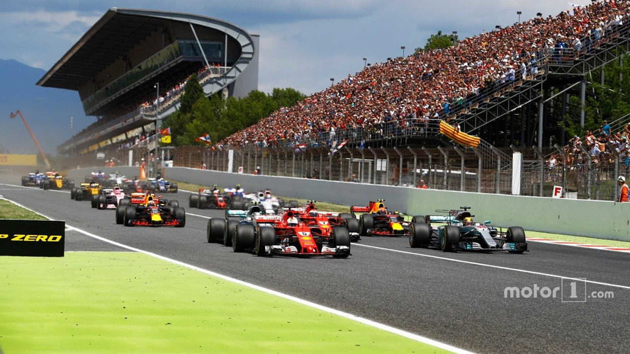2017 F1 Spanish Grand Prix – Race Results