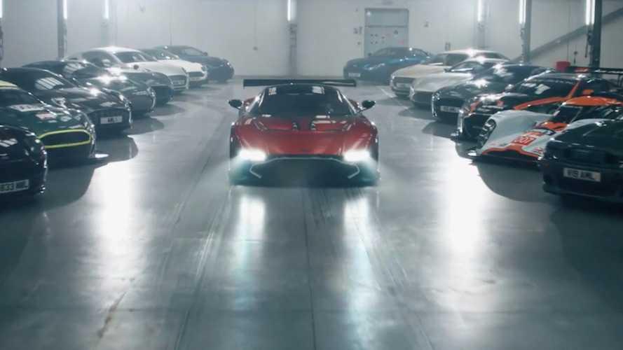 Aston Martin son teaser'ında neyi gösteriyor?
