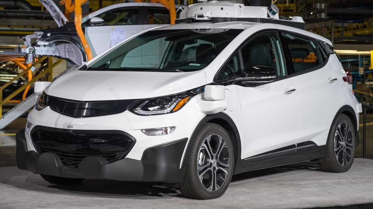 Autonomous Chevy Bolt EV
