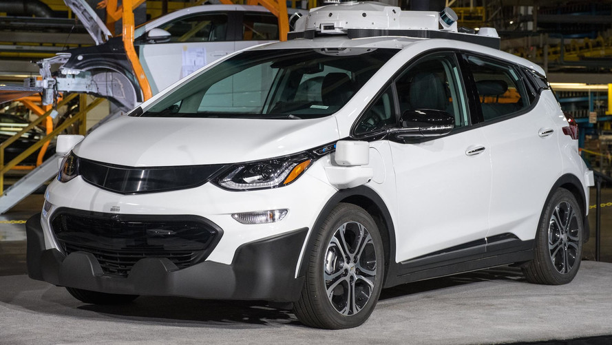 Autonomous Chevy Bolt Hit By Motorcycle