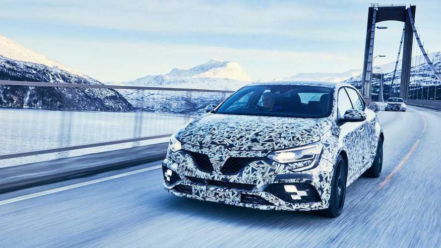 Négykerék-kormányzással érkezik az új Renault Megane RS