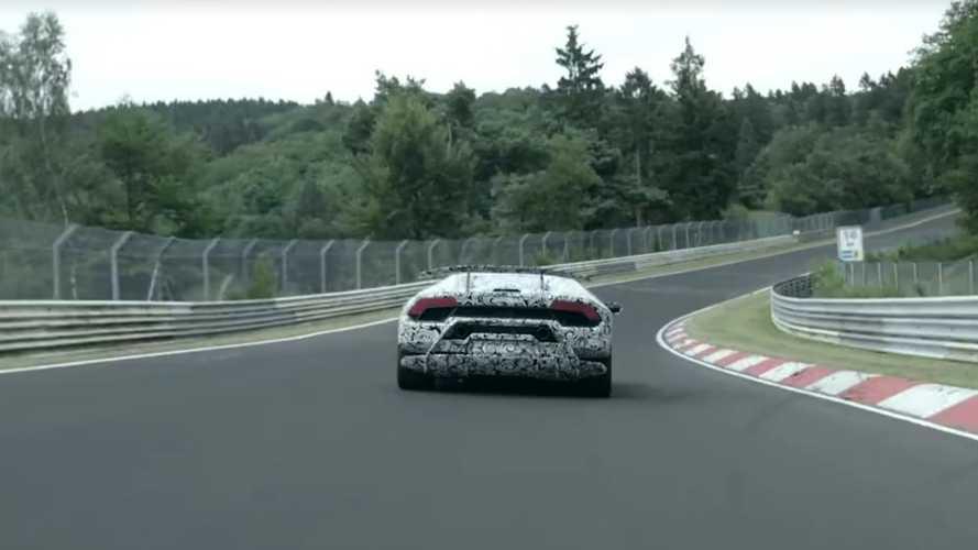 VIDÉO - Lamborghini Huracan Performante, les images embarquées du record !