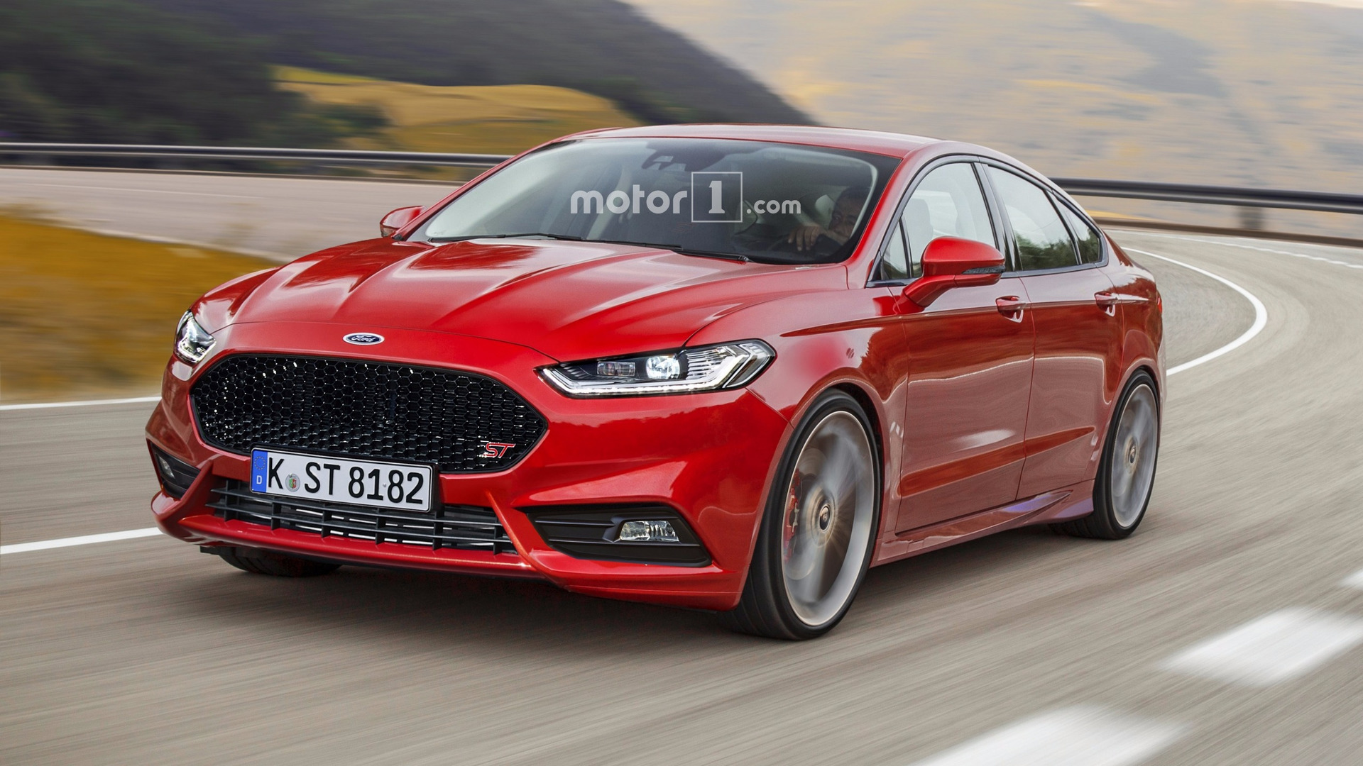 Ford Mondeo St 2017 >> Ford Mondeo St Render Needs To Happen In Real Life