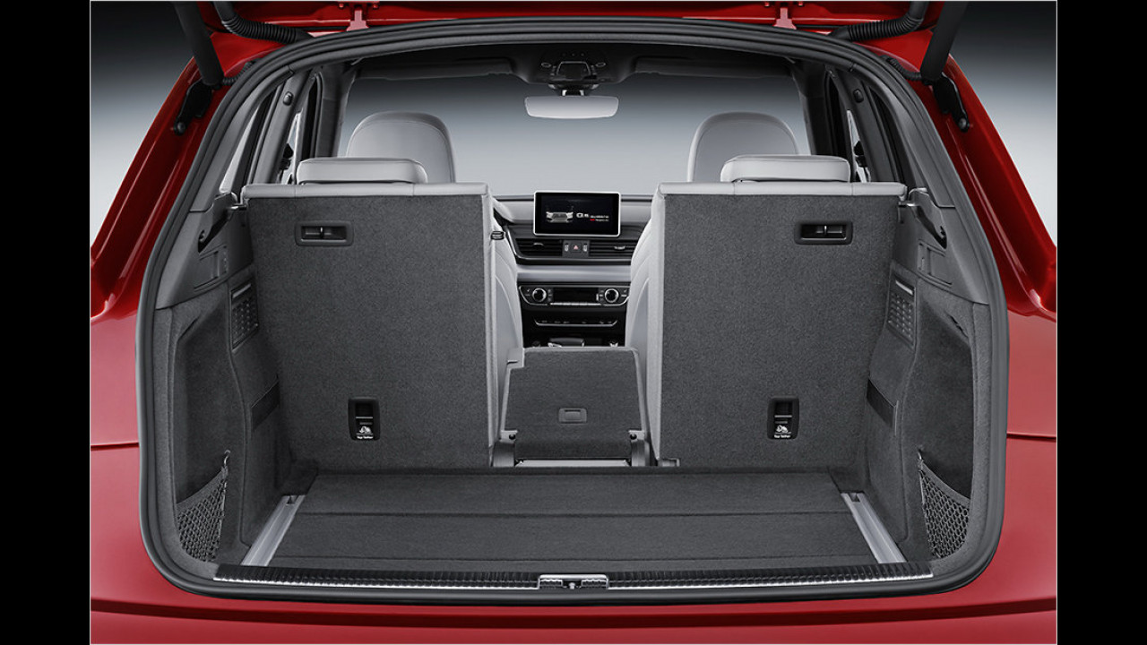 Kofferraum: Mit zweifach geteilter Rückbank