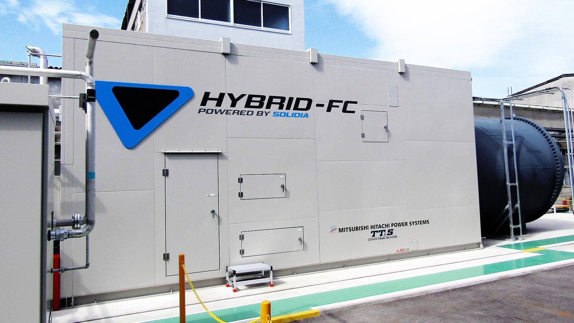 Forget Hydrogen Toyota Toying With Natural Gas Fuel Cell Line Up Mitsubishi Hitachi Power Systems Ltd
