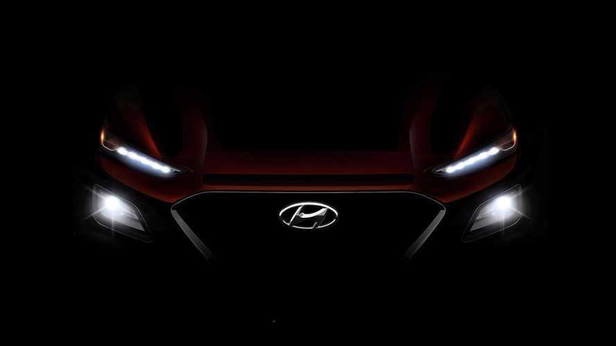 Agresszív vonalakkal és érdekes megoldásokkal érkezik a Hyundai KONA
