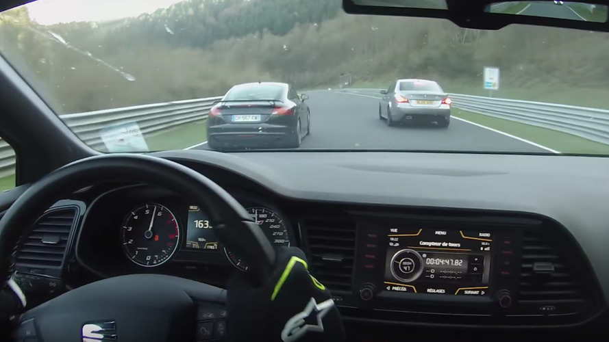 Audi TT RS Loses Control On Nurburgring, Somehow Avoids Big Crash