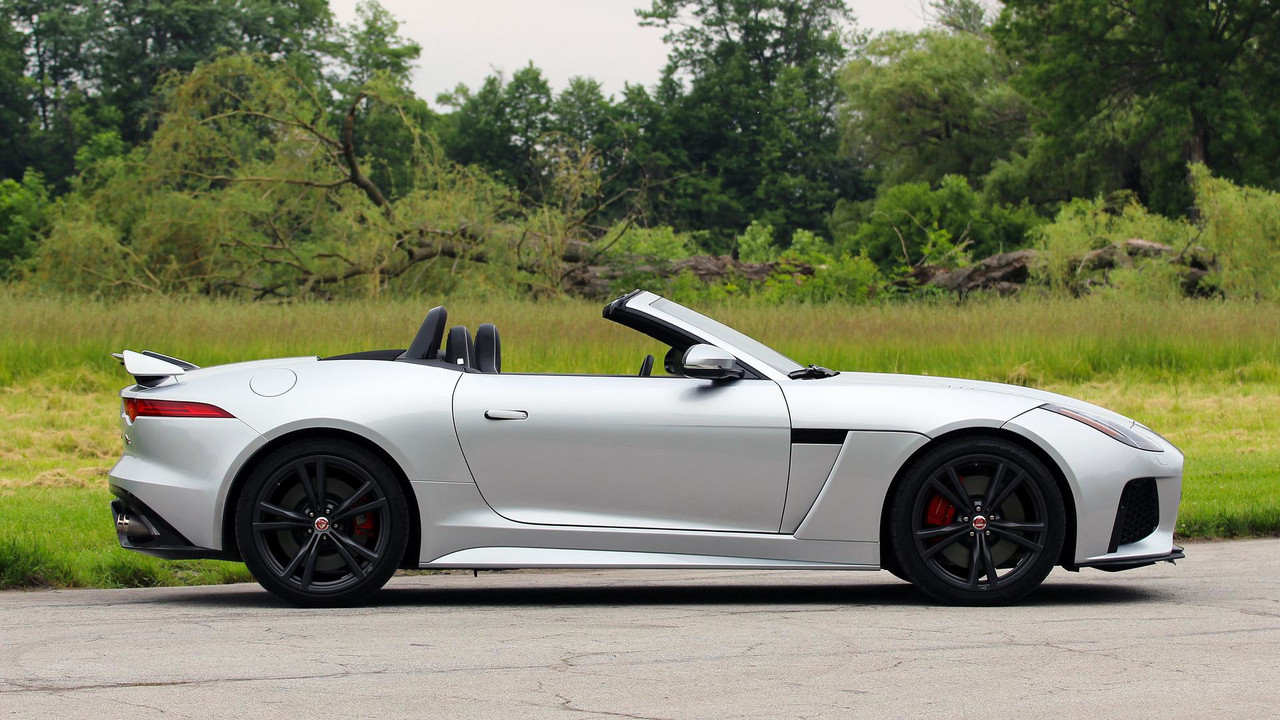 2017 Jaguar F Type Svr Convertible Review