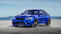 BMW M2 CS 2018 render
