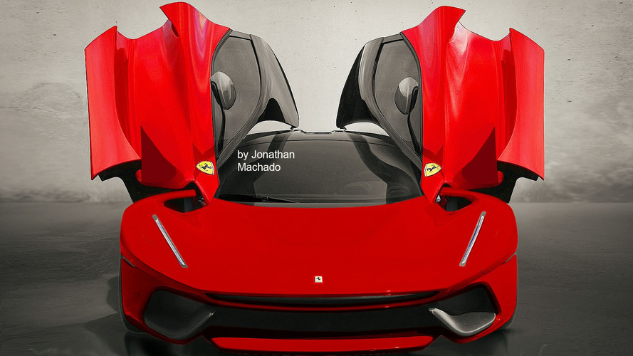 Possible LaFerrari one-off renders