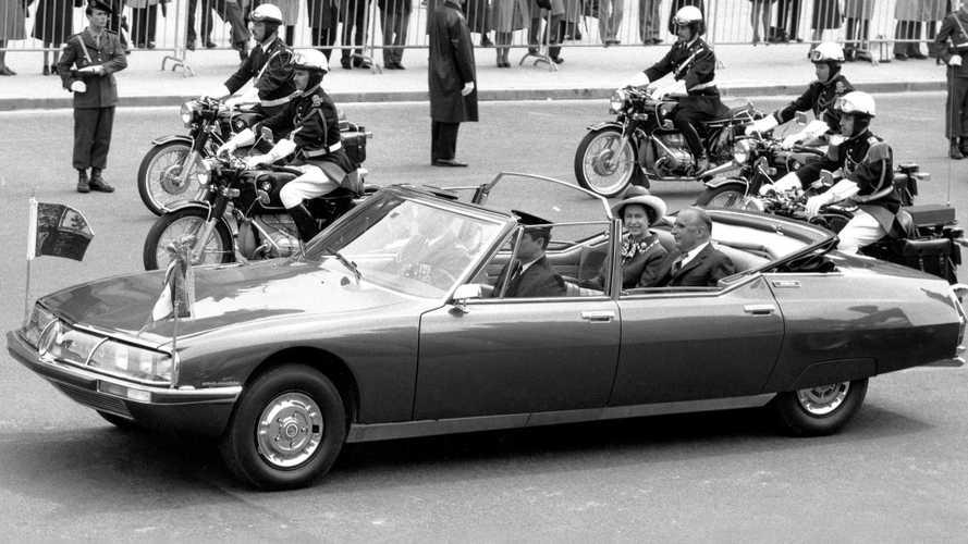 Limousines présidentielles - La Citroën SM de Georges Pompidou