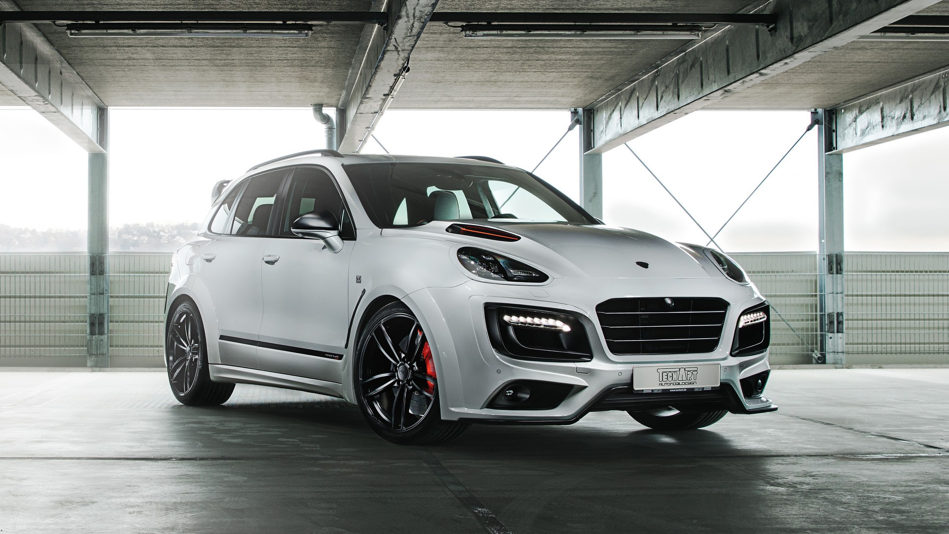 720 Hp Porsche Cayenne Turbo S Marks Techart S 30th Anniversary