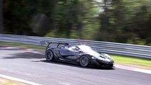 McLaren P1 GTR LM Laps Nurburgring