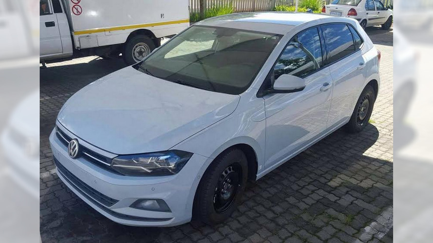 New 2017 VW Polo spotted almost uncovered