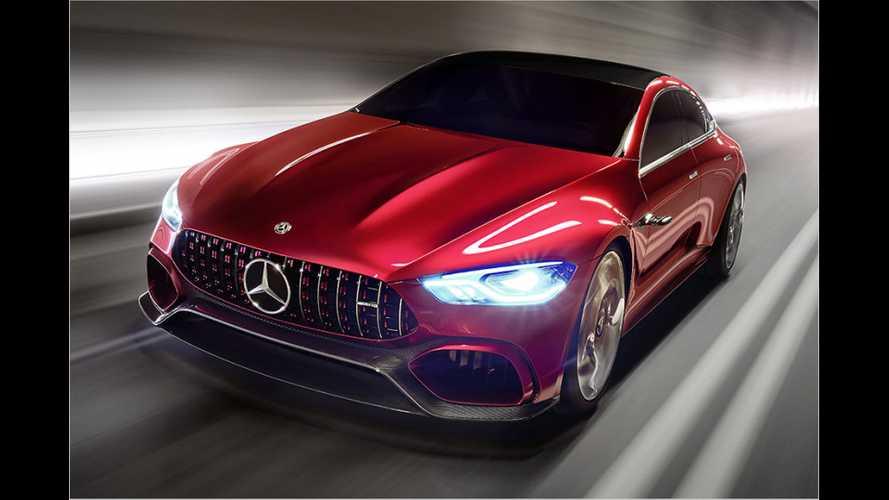 Mercedes-AMG GT Concept (2017) als Ausblick auf den AMG GT Viertürer
