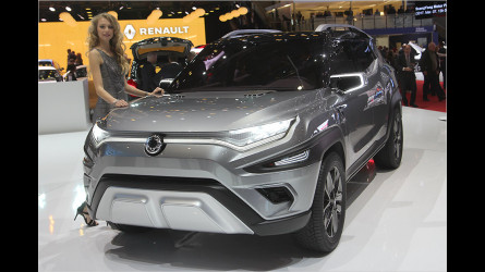 SUV-Studie XAVL und Korando Facelift