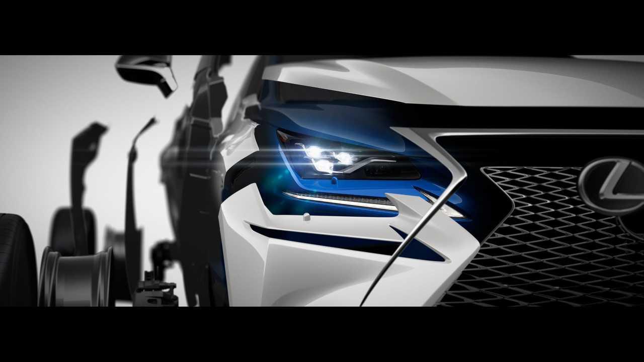 2018 Lexus NX teaser image