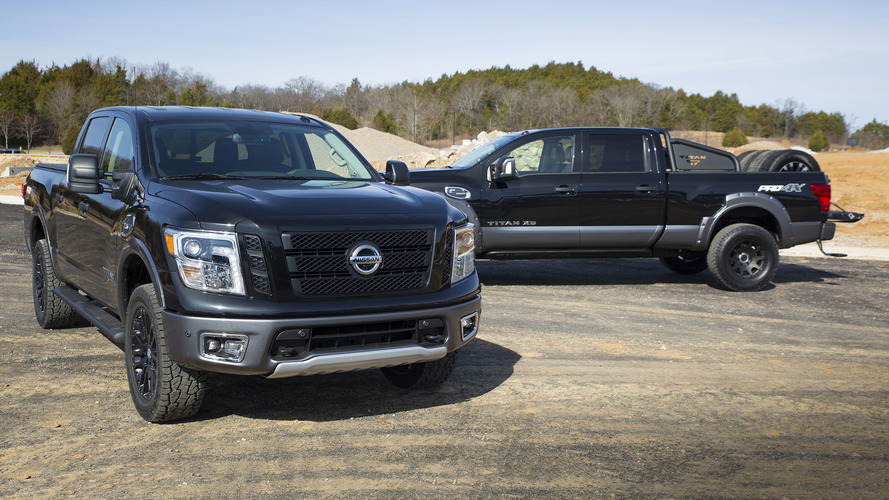 2017 Nissan Titan, Titan XD concepts show range of dealer accessories