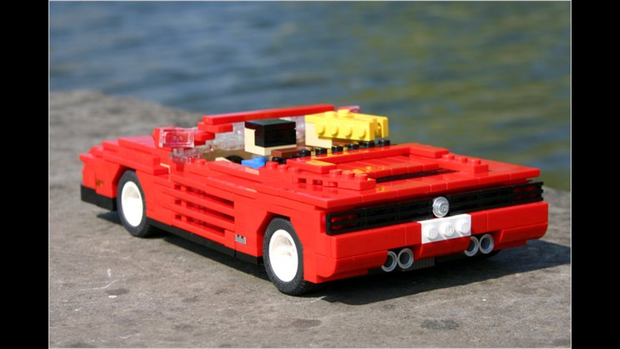 Out Run: Ferrari Testarossa Cabriolet