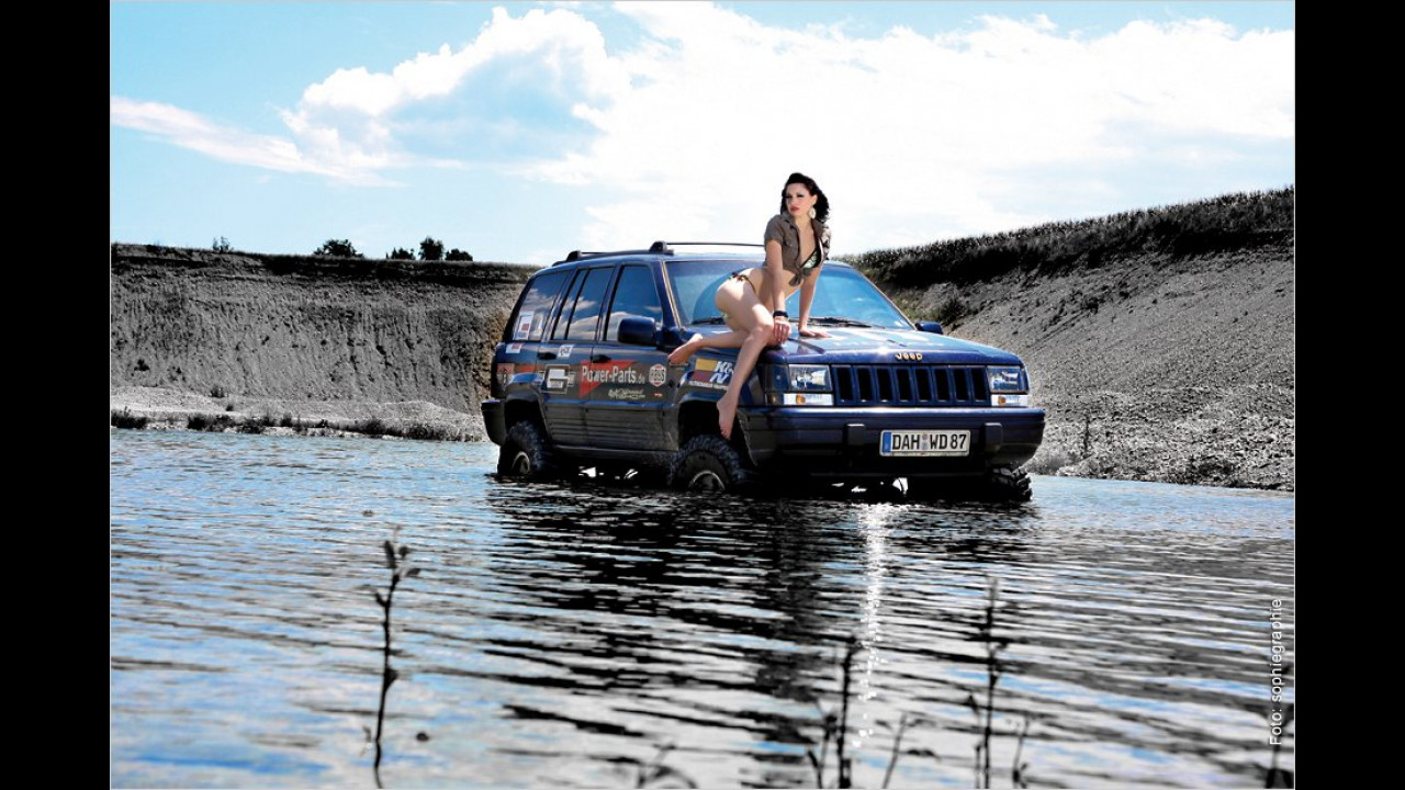 Jeep Grand Cherokee und Sheen
